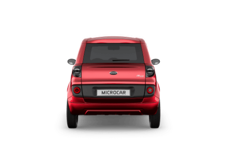 MICROCAR M.GO PLUS - FACE ARRIERE